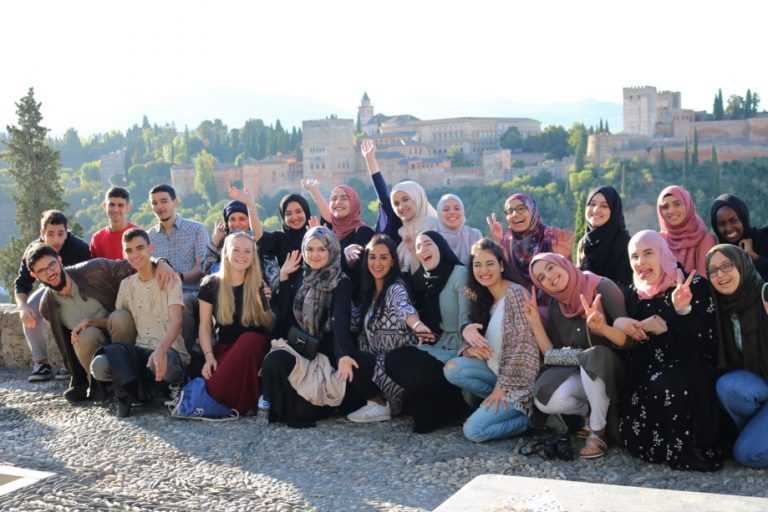 Gruppenbild der Regionalgruppenreise nach Andalusien